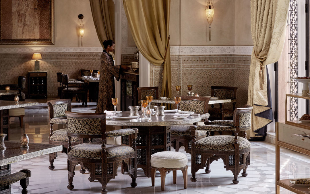Les Grandes Tables du Monde celebrates in Marrakesh